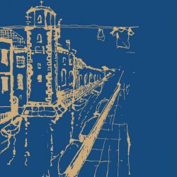 city lines murals castello venezia spice royalblue