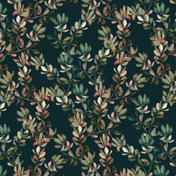 audreys garden autumn gum leaves navy low res