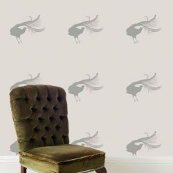 audreys garden grey lyrebird off white mockup