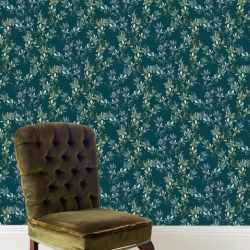audreys garden winter gum leaves turquoise mockup