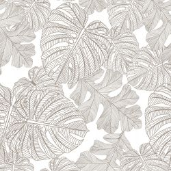 fronds silhouette monsteria mix riversand white