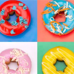photographic collages doughnuts detail 4