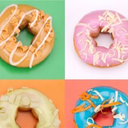 photographic collages doughnuts detail 1