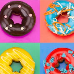 photographic collages doughnuts detail 3