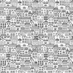 cities houses rows allover