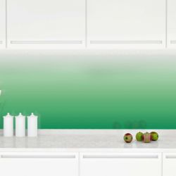 ombre concept  print on glass splashback