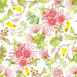 bushland blooms NZ floral white
