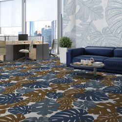 fronds silhouette concept carpet and wallpaper