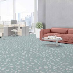 terrazzo concept office carpet small and upholstery