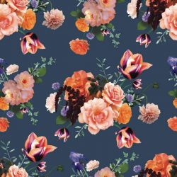 floral opulence autumn posies deep sea