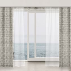 notions wallpaper and curtain