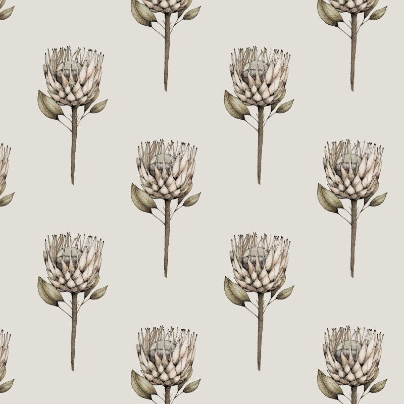 audreys garden cream protea off white
