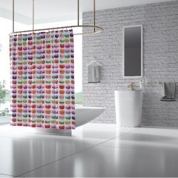 quirky concept shower curtain