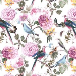 jungle chic blooming birds day