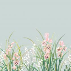 secret garden orchid border pink seaspray