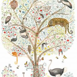 wildlife stories suzani tree animals