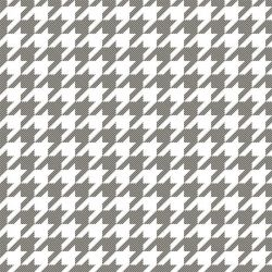 back to basics houndstooth small white