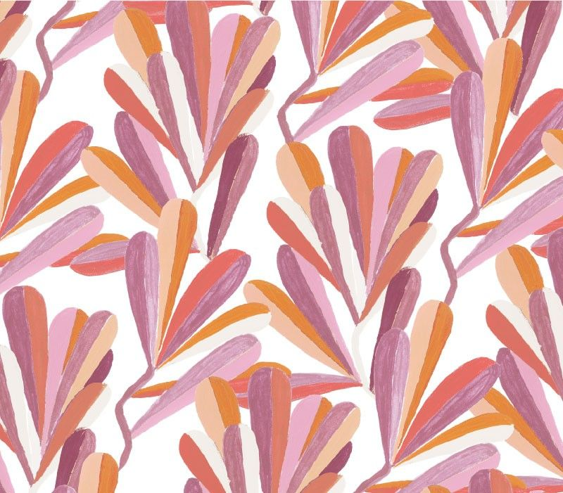 coastal banksia leaves violet
