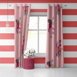 micro florals concept curtain