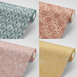 printers block concept wallpaper rolls