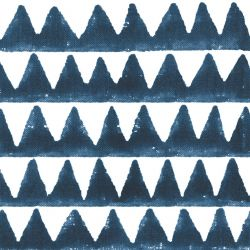 indian block prints pyramids indigo