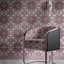 vintage tiles concept wallpaper upholstery
