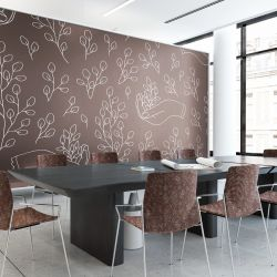 autumn aspects concept office wallpaper upholstery