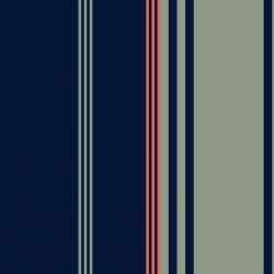 isla bonita stripes darknavy fabric