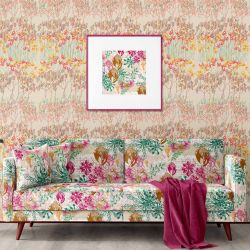 bushland blooms concept upholstery wallpaper artwork