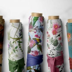 australian forests concept fabric rolls