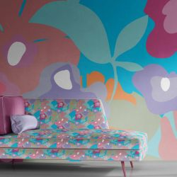 florale concept wallpaper upholstery