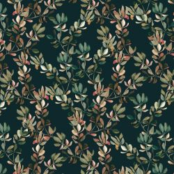 audreys garden autumn gum leaves navy