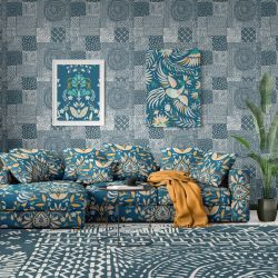 mexicana concept wallpaper upholstery rug artwork