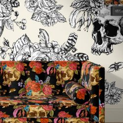 quicky concept wallpaper upholstery artwork