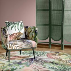 summer tropics concept rug upholstery