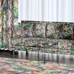 summer tropics concept upholstery rug curtain