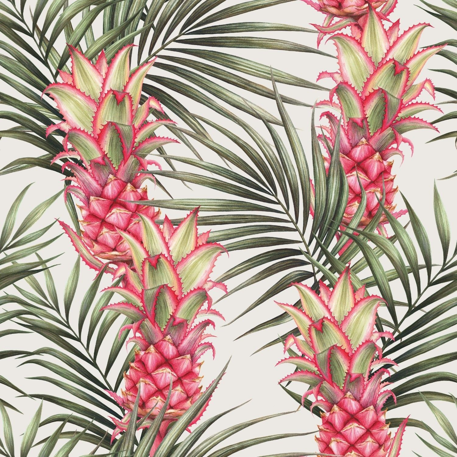 summer tropics pineapples in paradise day