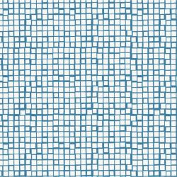 porcelain mosaic blue white