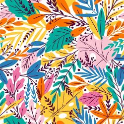 fabulous florals jungle explosion rainbow