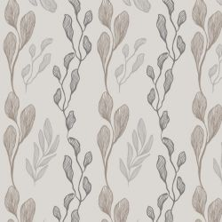 botanical waves leaf assortment mist koal riversand creme