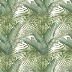 vintage jungle palm screen