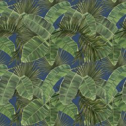 vintage jungle cross leaf deepsea