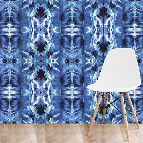 curatedmemory art deco indigo decadent