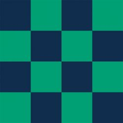 back to basics checkmate large regal green and deep sea