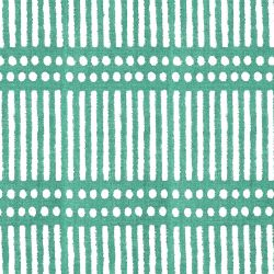 indian block prints dash dot emerald