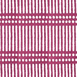 indian block prints dash dot raspberry