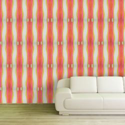 modern abstract  veronica stripe
