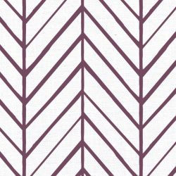 oriental collective  asian herringbone plum