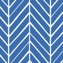 oriental collective  asian herringbone reverse cobalt