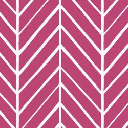 oriental collective  asian herringbone reverse fuschia